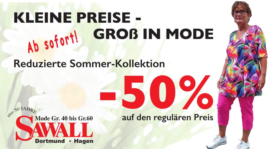 Kleine Preise - Gross in Mode | reduzierte Sommer Kollektion