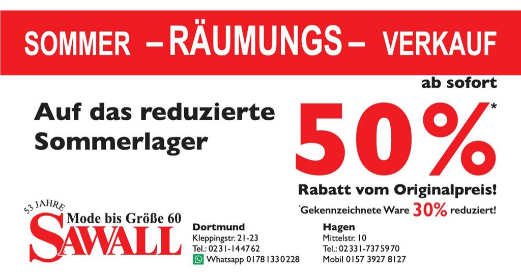 Sommer-Raeumungs-Verkauf 2021